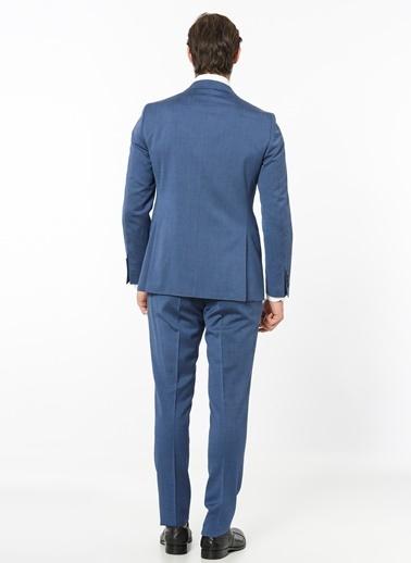 Daffari Takım Elbise Mavi